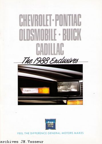 Gamme Exclusives  CH  multi  1988