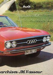 1965-1979 Les innovations Audi