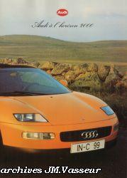 Audi à l'horizon 2000