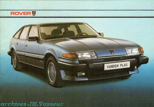 Rover 2000 / 2300 S / 2400 SD TURBO / 2600 S / VAN DEN PLAS  AM 1983