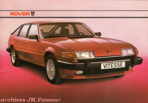 Rover 2000 S / 2400 SD TURBO / 2600 S / VAN DEN PLAS / VITESSE AM 1984