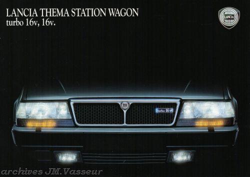 Lancia Thema Station Wagon