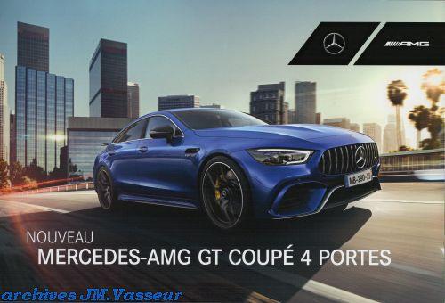 Mercedes-Benz AMG GT 4 PORTES