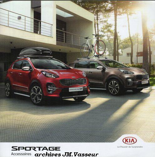 Kia Sportage : Accessoires