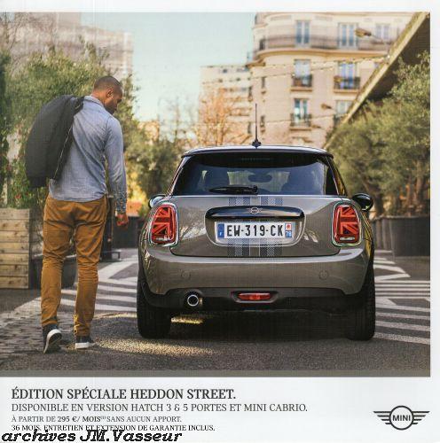 Mini Hatch 3 & 5 portes / Mini Cabrio HEDDON STREET