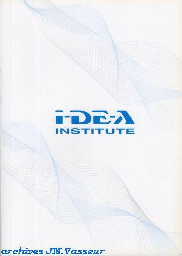 I-DE-A Institute : Dossier de Presse Genève 2010