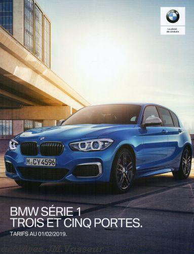 BMW Série 1 : Équipements de série, Tarifs et Options