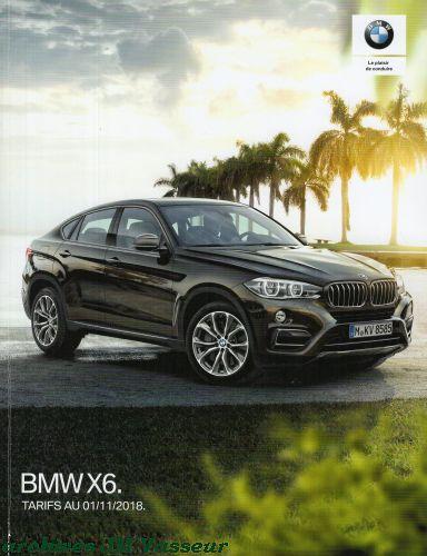 BMW X6 : Équipements de série, Tarifs et Options