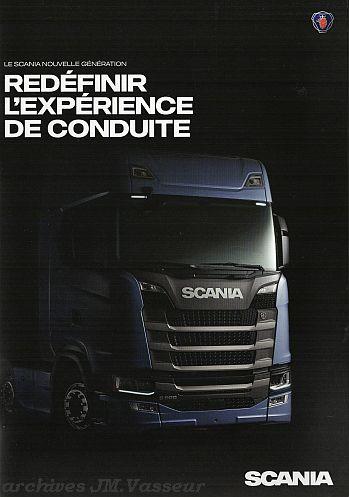 Scania Tracteurs séries S / R