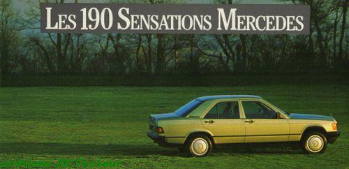 Mercedes-Benz 190 SENSATIONS