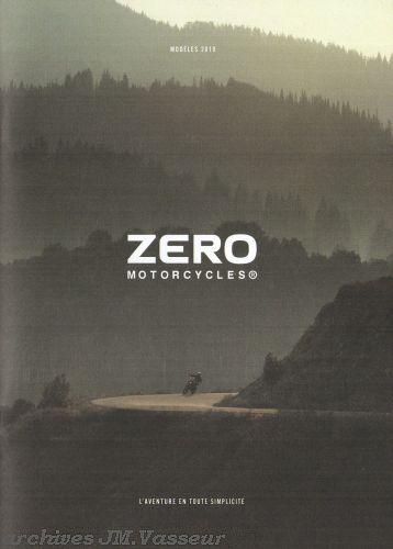 Zero Motorcycles Gamme Zero