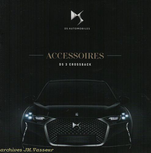 DS Automobiles DS 3 Crossback : Accessoires