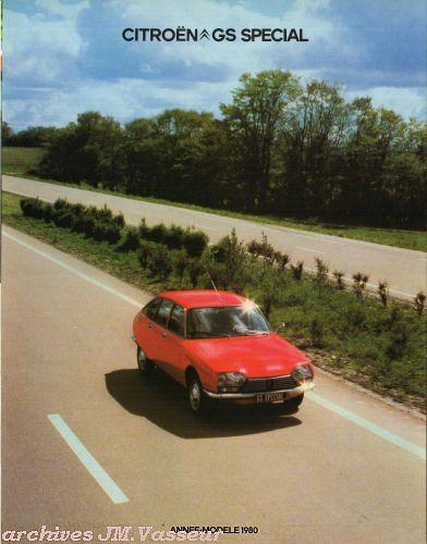 Citroën GS SPECIAL AM 1980