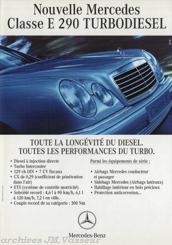 Mercedes-Benz Classe E 290 TURBODIESEL