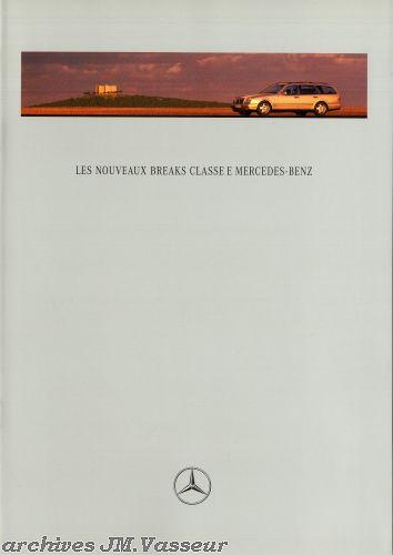 Mercedes-Benz Classe E Breaks