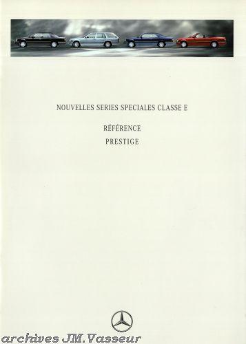 Mercedes-Benz Classe E RÉFÉRENCE / PRESTIGE
