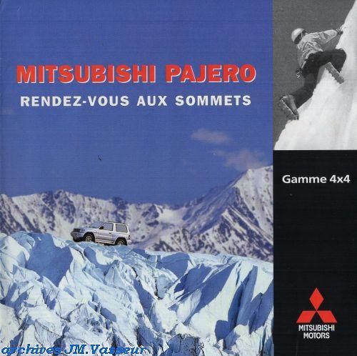 Mitsubishi Gamme 4×4 Mitsubishi