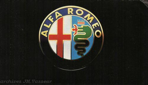 Alfa Romeo Gamme Alfa Romeo