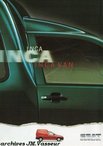 Seat Inca Van