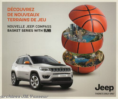 Jeep®Compass BASKET SERIES WITH LNB