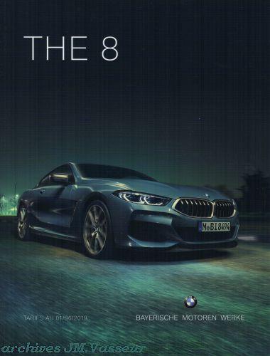 BMW Série 8 Coupé / Cabriolet : Équipements de série, Tarifs et Options