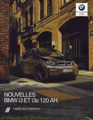 BMW i3 / i3s 120 AH : Équipements de série, Tarifs et Options