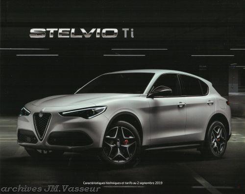 Alfa Romeo Stelvio Ti : Caractéristiques techniques, Équipements et Tarifs