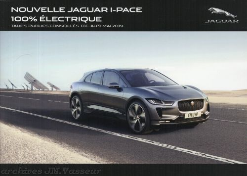 Jaguar I-PACE : Tarifs, Spécifications, Options