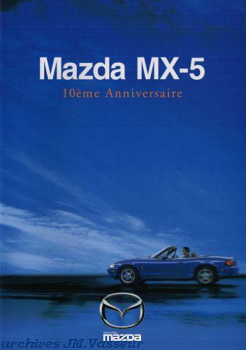 Mazda MX-5 10ème ANNIVERSAIRE