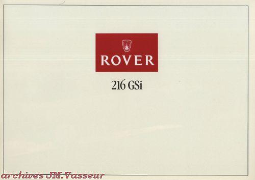 Rover 216 GSi