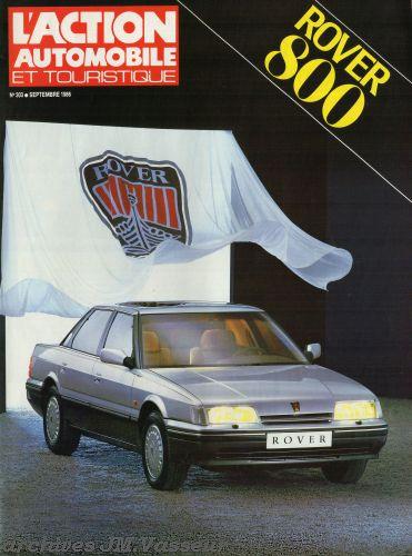 Rover : Publicité l'Action Automobile Rover 800
