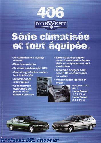 Peugeot 406 / 406 Break NORWEST
