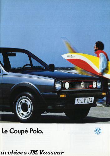 Volkswagen Polo Coupé