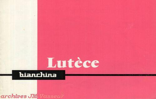 Autobianchi Bianchina Lutèce