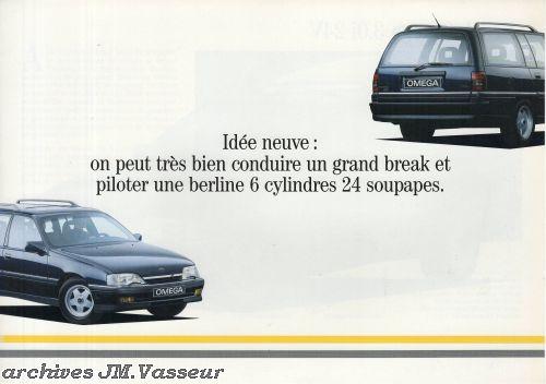 Opel Omega Break 3.0i 24V
