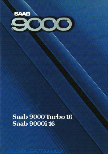 Saab 9000 TURBO 16 / 9000i 16