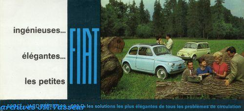 Fiat 500 D / JARDINIÈRE 500 / 600 D