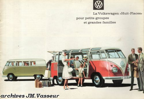 "Volkswagen Transporter 1-Type 2 Combi ""Huit Places"""