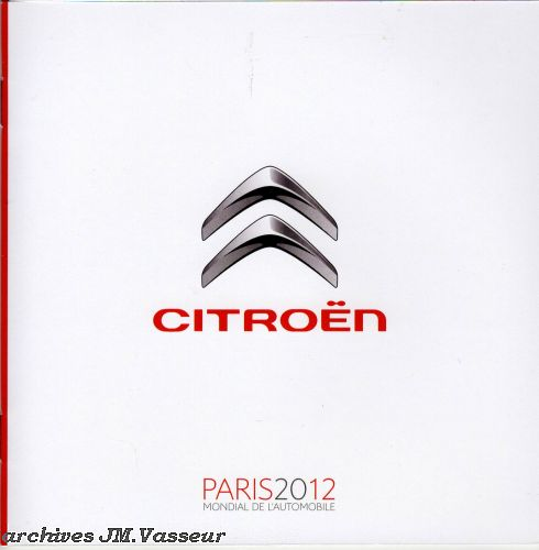 Citroën Salon de Paris 2012