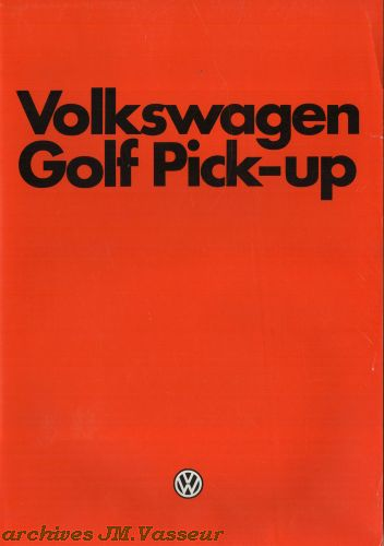 Volkswagen Golf Pick-Up