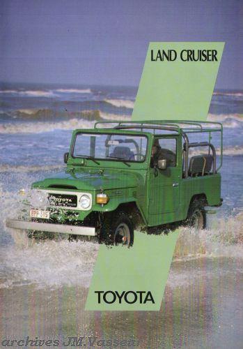Toyota Land Cruiser 4×4 BJ/HJ
