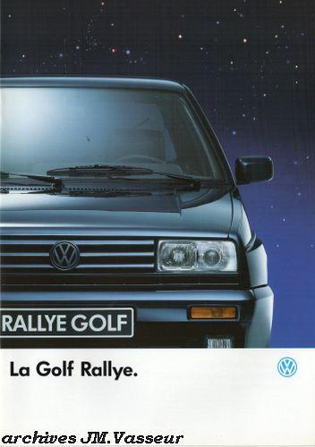 Volkswagen Golf RALLYE