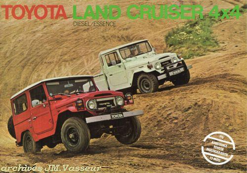 Toyota Land Cruiser 4×4 BJ/HJ/FJ