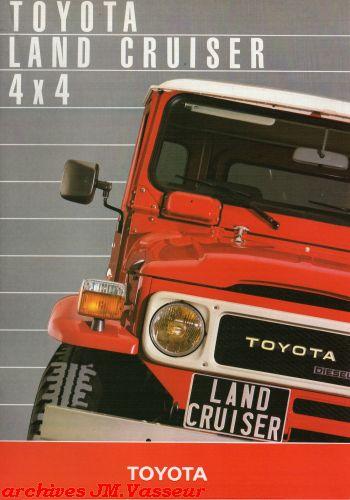 Toyota Land Cruiser 4×4 BJ/FJ