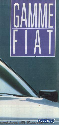 Fiat Gamme Fiat 1988
