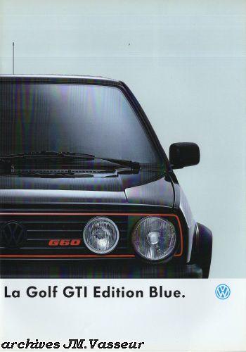 Volkswagen Golf GTI EDITION BLUE