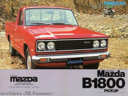 Mazda Pick-up B1800