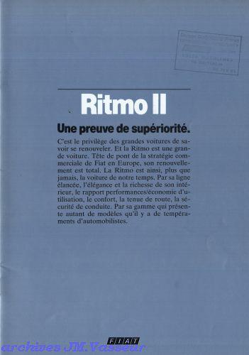 Fiat Ritmo II