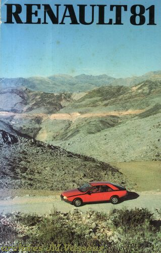 Renault Gamme Renault AM 1981
