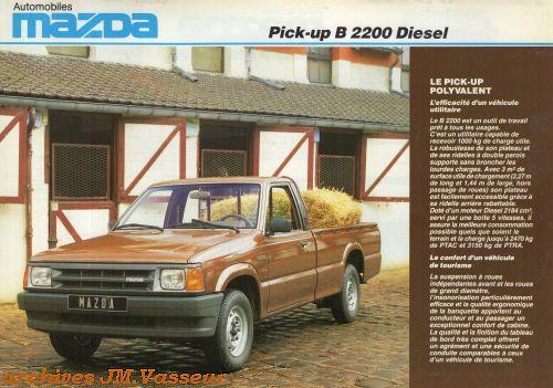 Mazda Pick-up B2200 DIESEL